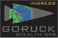 ingress x GORUCK stealth Ops